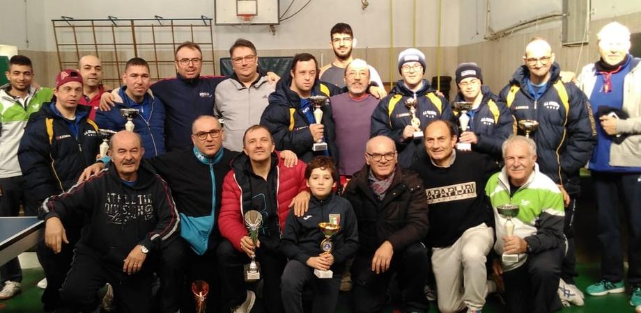 Caltanissetta, campionati provinciali di Tennistavolo: presenti oltre 40 atleti di varie categorie
