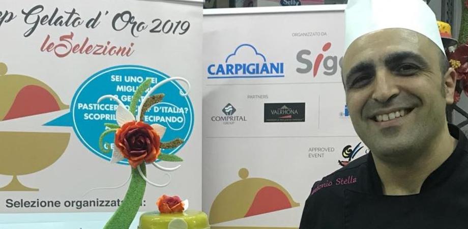 """Caltanissetta, Antonino Stella è fra i 12 pasticceri italiani che parteciperanno a Rimini al """"Gelato d'oro"""""""