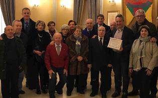 Caltanissetta, la federazione Maestri del lavoro consegna un riconoscimento al sindaco per la collaborazione istituzionale