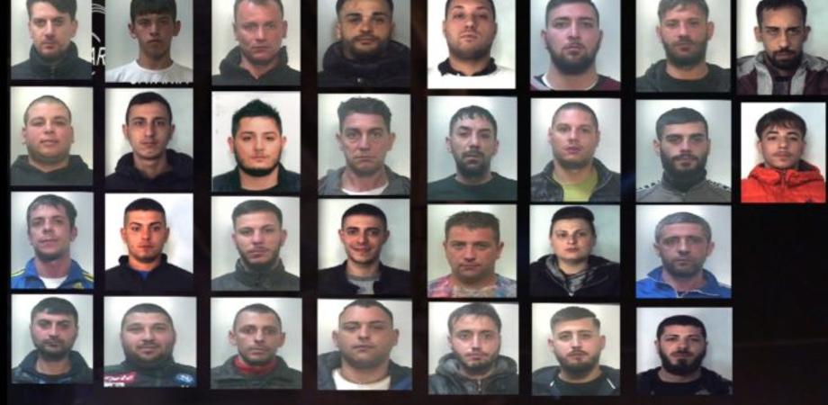 Sgominato mercato della droga: blitz fra Catania, Caltanissetta e Ragusa con 37 arresti