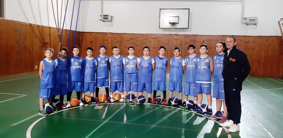 Basket esordienti, l'Airam Caltanissetta vince e sale in vetta alla classifica