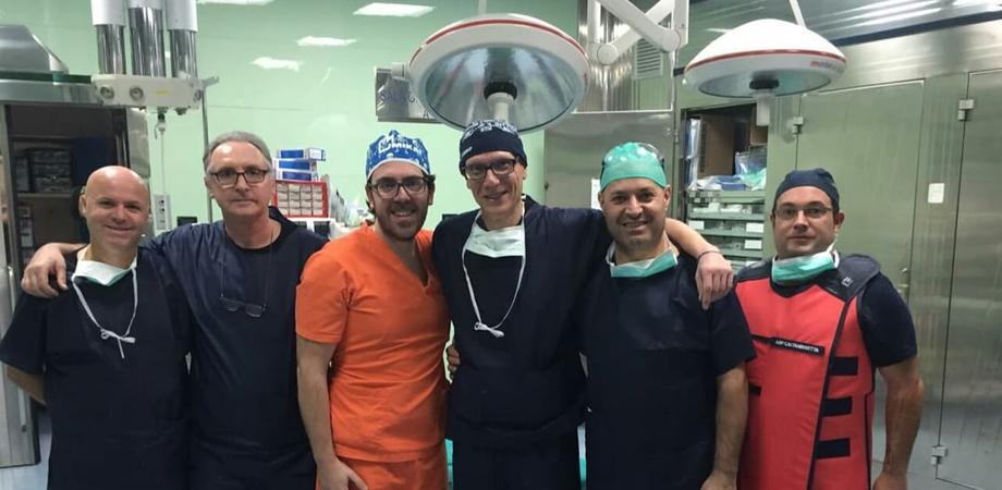 Caltanissetta, intervento d'eccellenza al Sant'Elia: impiantata protesi di gomito dall'equipe di Ortopedia