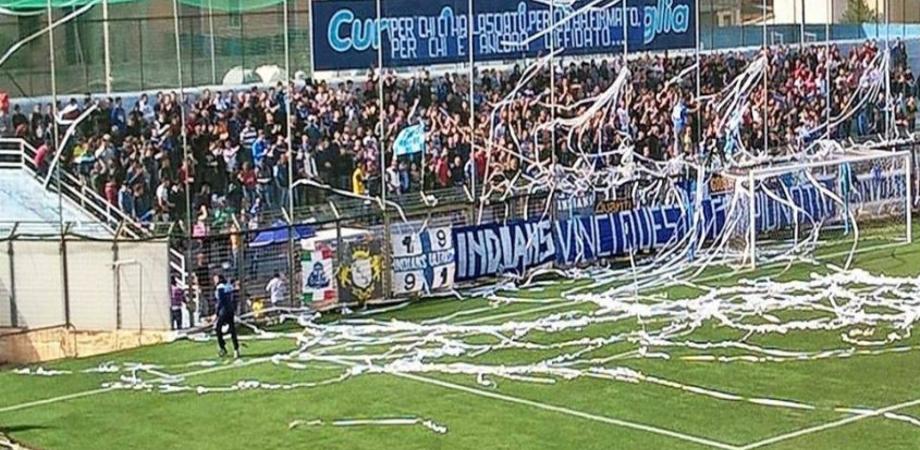 Trasferta vietata ai tifosi del Gela a Nocera Inferiore: la curva è inagibile