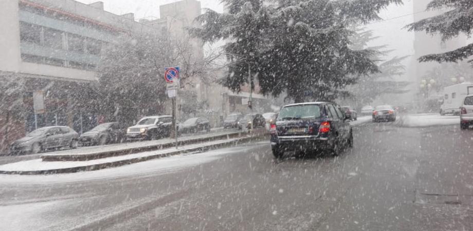 Allerta Gialla a Caltanissetta per condizioni meteo avverse. Forti venti e rischio nevicate