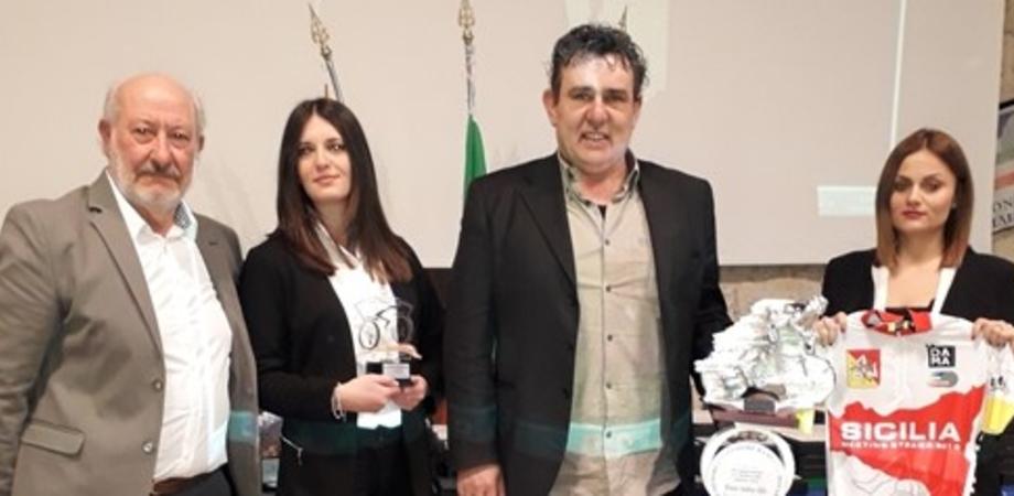 Oscar del ciclismo a Caltanissetta: premiati atleti e dirigenti che si sono distinti nel 2018