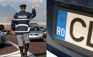Auto straniera per i rumeni inseguiti e denunciati dalla Polstrada di Caltanissetta: applicato per la prima volta il Decreto Sicurezza