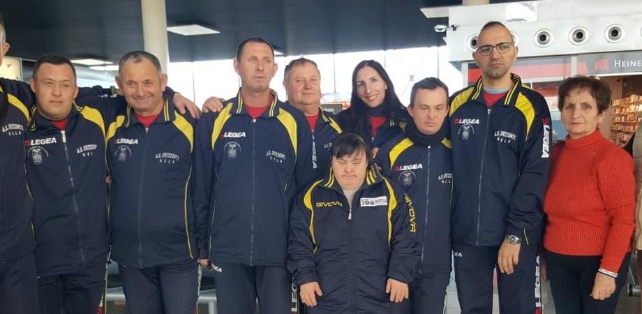 Gela, l'associazione Orizzonte partecipa ai Giochi Nazionali Invernali Special Olympics nella corsa con le racchette da neve