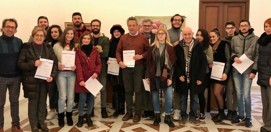 Le Vie dei Tesori a Caltanissetta: riconoscimento ai giovani impegnati nelle visite guidate al Teatro Margherita
