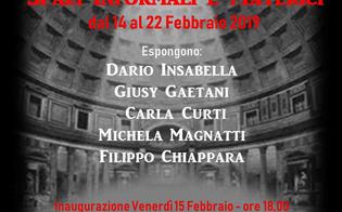 Le opere dell'Artista sancataldese Filippo Chiappara esposte nella Galleria Area Contesa Arte di via Margutta a Roma