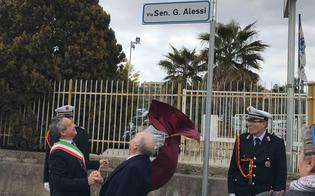 Via due Fontane diventa via Giuseppe Alessi, Ruvolo: