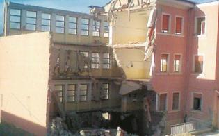Serradifalco, il crollo del plesso Verga: gli operai ripercorrono quei drammatici momenti
