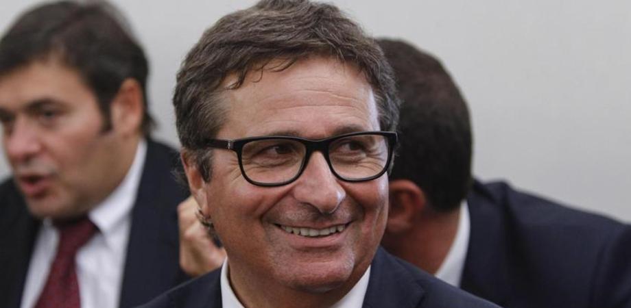 Il vicepresidente del Csm David Ermini in visita al palazzo di giustizia di Caltanissetta