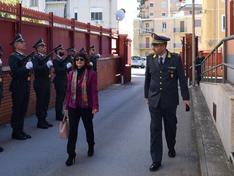 Caltanissetta, il prefetto visita il Comando Provinciale della Guardia di Finanza