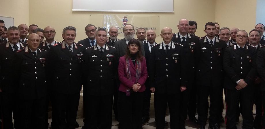 """Caltanissetta, il prefetto in visita al Comando Provinciale dei Carabinieri: """"La sinergia fra forze dell'ordine è importante"""""""