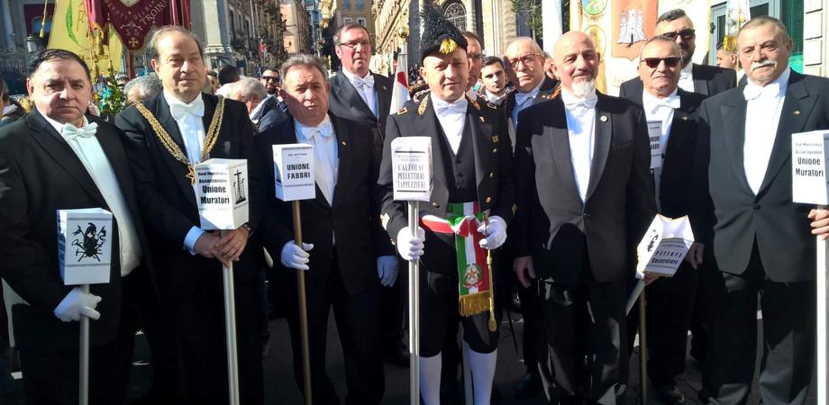 Una delegazione della Real Maestranza a Catania in onore di Sant'Agata