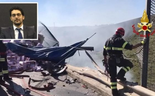 Il magistrato morto nel terribile incidente sulla A19 si stava recando a Caltanissetta: lascia la moglie e un bimbo