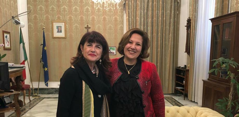 Visita del console generale del Marocco alla Prefettura di Caltanissetta