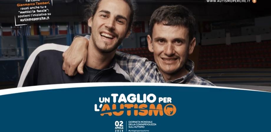 """Al via la campagna """"Un taglio per l'autismo"""": testimonial il campione Gianmarco Tamberi"""