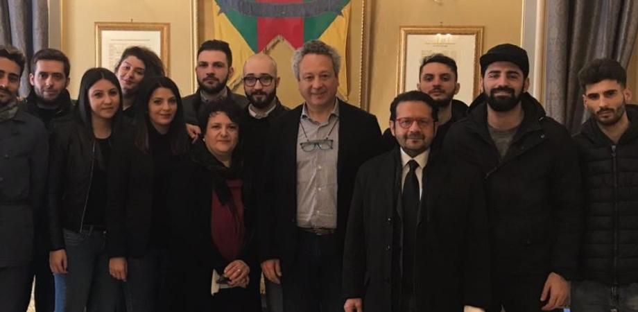 Caltanissetta, inizia il secondo anno del servizio civile al Comune. Il sindaco incontra i giovani volontari selezionati