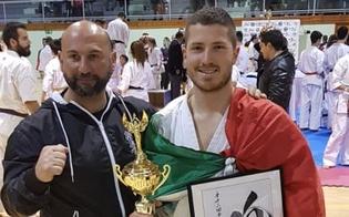 Karate kyokushinkai, l'atleta nisseno Adriano Tripoli conquista il terzo posto ai campionati di Barcellona