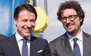 Conte e Toninelli in Sicilia, visiteranno il cantiere della Ss 640 in contrada Bigini