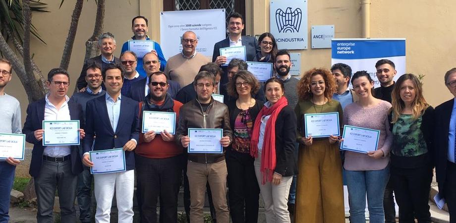 Ice Export Lab: 25 nuovi export manager pronti per i mercati internazionali, 4 in provincia di Caltanissetta