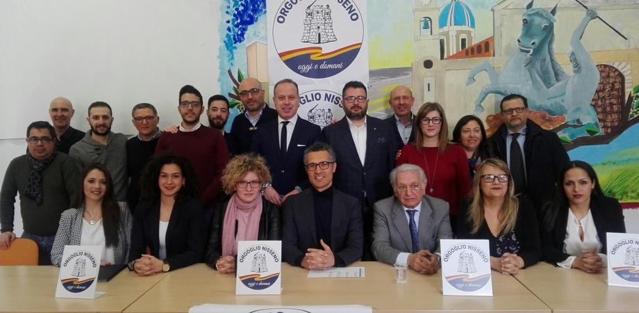 """Amministrative, nasce """"Orgoglio Nisseno"""". Pronta la lista dei candidati al consiglio comunale"""