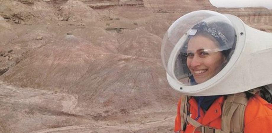Chiara, ingegnere aerospaziale, da Gela al deserto dello Utah per simulare  la vita su Marte