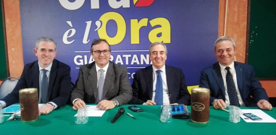 """Maurizio Gasparri a Caltanissetta per sostenere la candidatura di Giarratana: """"Alla passione unisce una solida esperienza"""""""