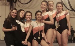 Ginnastica artistica, campionati regionali: trionfano le atlete della Gym School di Caltanissetta