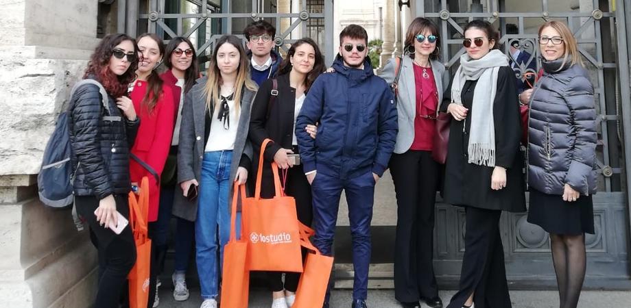 """Da Caltanissetta a Roma, gli studenti del """"R. Settimo"""" in visita all'Anac e al Miur"""