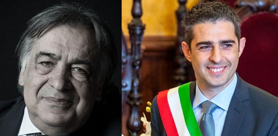 A Caltanissetta Leoluca Orlando chiude la campagna elettorale di Salvatore Messana