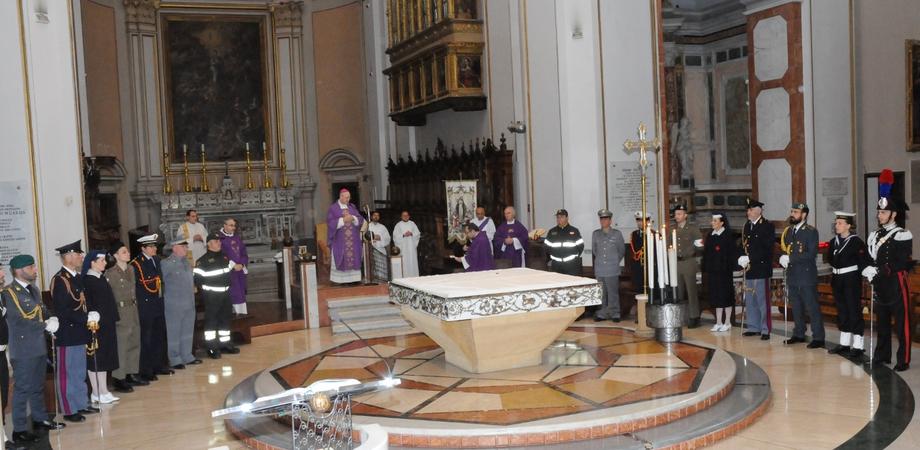 Caltanissetta, celebrato in Cattedrale dal vescovo Russotto il precetto pasquale interforze