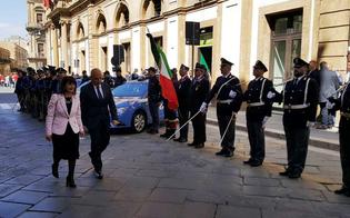 Caltanissetta, la Polizia di Stato festeggia il 167� anniversario. Cerimonia austera per la recente scomparsa di due agenti