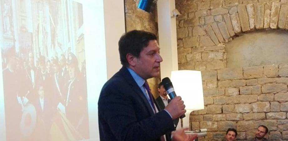 """Salvatore Messana al confronto tra i candidati sindaco: """"Le mie proposte dal turismo, al centro storico alla difesa di ospedale e Corte d'Appello"""""""