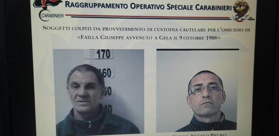 Dda Caltanissetta, due arrestati per l'omicidio del barista Giuseppe Failla