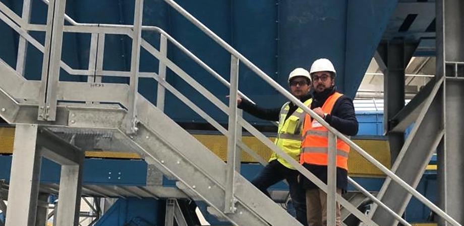 """A Gela il terzo impianto più grande d'Italia per il trattamento dei rifiuti. Giudice: """"Zero infortuni e opera moderna"""""""