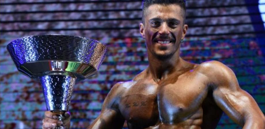 Un gelese alla finale di mister Universo: l'atleta siciliano trionfa al campionato nazionale di Body Building
