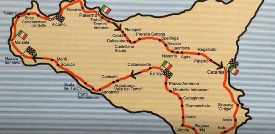 """Torna a Caltanissetta il """"Giro di Sicilia"""": oltre 250 le auto storiche che sfileranno in tutta l'isola"""