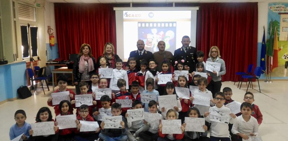 """Distrazioni alla guida e conseguenze, la Polizia stradale di Caltanissetta presenta il progetto """"Icaro"""""""