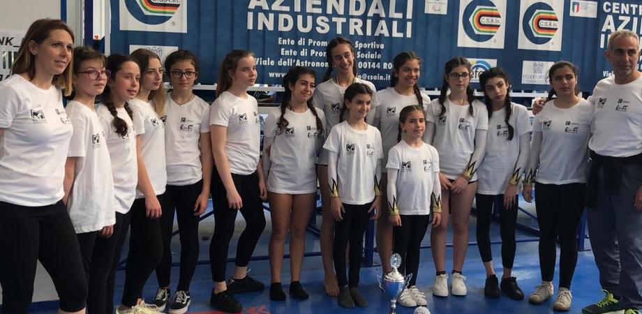 Ginnastica artistica, le atlete dell'Athletic di San Cataldo brillano al campionato nazionale di Salerno