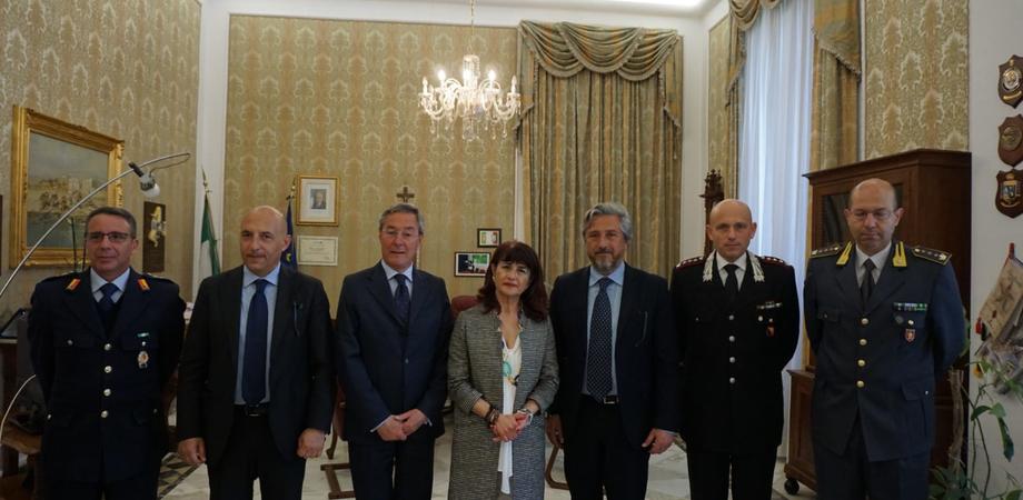 """Gambino e Greco in visita in prefettura. Il sindaco di Caltanissetta: """"Collaborazione fattiva per rendere la città più sicura"""""""