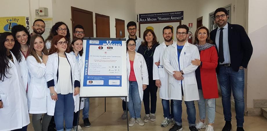Giornata mondiale contro l'ipertensione arteriosa, screening all'istituto Russo di Caltanissetta