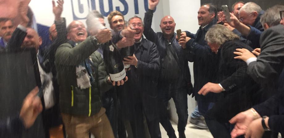 """Gela festeggia il suo nuovo primo cittadino, Greco: """"Sarò il sindaco di tutta la città"""""""