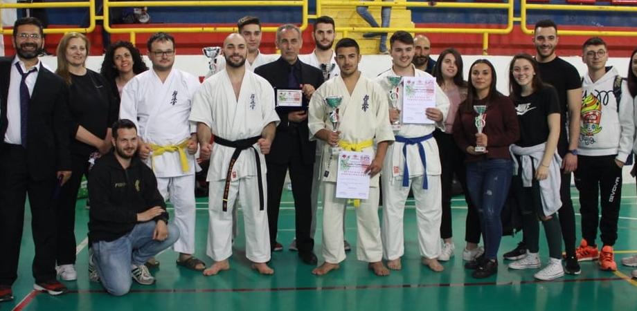 Finale nazionale di karate kyokushinkai, trionfa l'Athetic di San Cataldo