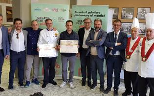 Caltanissetta, la Colomba con il mascarpone di Davide Pernaci trionfa al gelato festival challenge