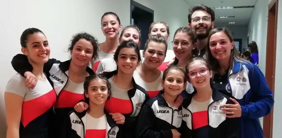Gare regionali di ginnastica artistica al Palacannizzaro di Caltanissetta: ottimi risultati per le ginnaste del CusN