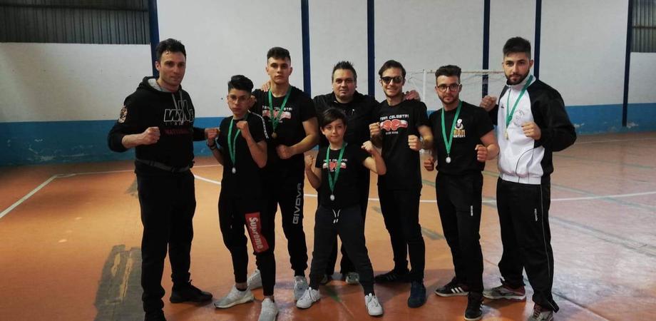 Kick boxing, al campionato regionale trionfano gli atleti nisseni del team Celestri
