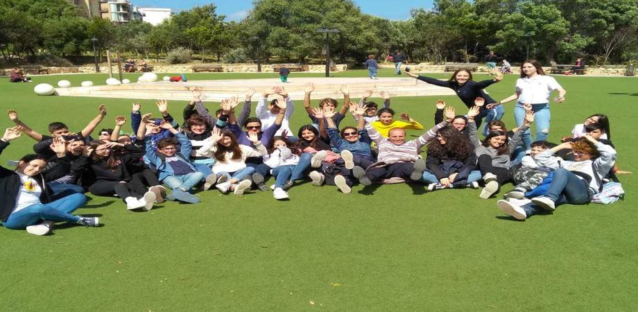 """Soggiorno studio all'estero per 53 studenti della scuola """"Cordova"""" alla scoperta di Malta"""