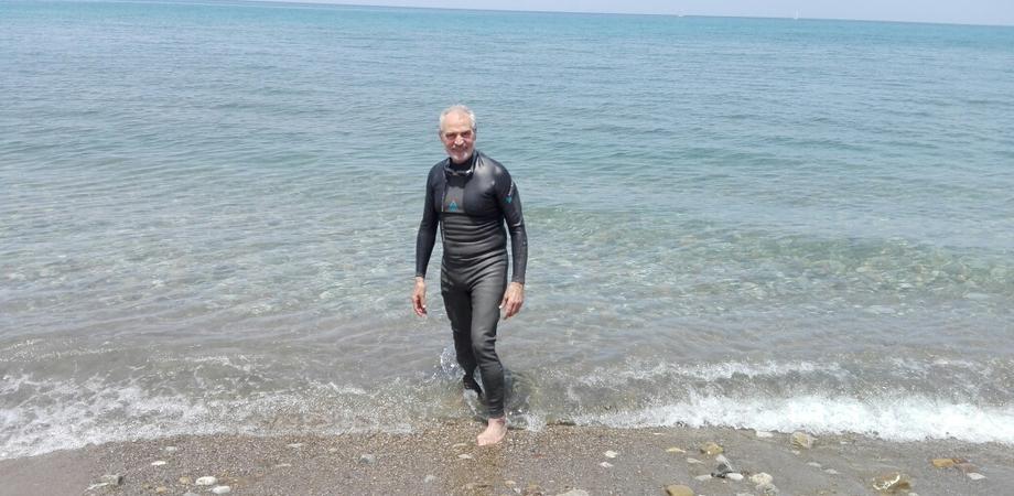 Traversata della solidarietà a Ischia: anche il nisseno Nello Ambra parteciperà all'iniziativa della Fidas